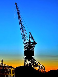 Bordeaux Port Crane