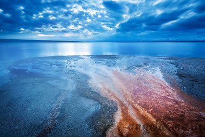 Blue Morning #1 - West Thumb Geyser Basin
