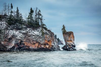 Crashing - Lake Superior