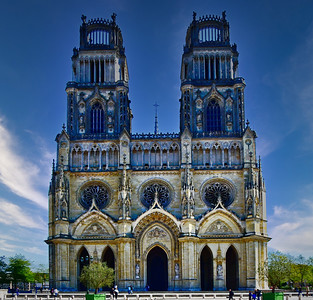 Cathedral Saint Croix in Orleans