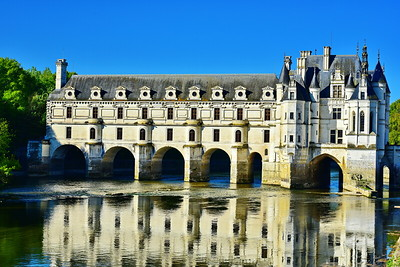 Chateau Chenonceau on the Cher River