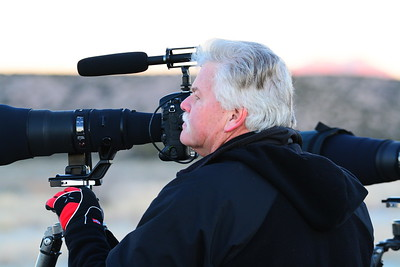 Moose Peterson, the Nikon Guy, at Bosque in 2016
