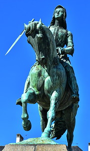 Joan of Arc;  Statue in Orleans