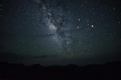 Milky Way from Soltol Vista, Big Bend National Park