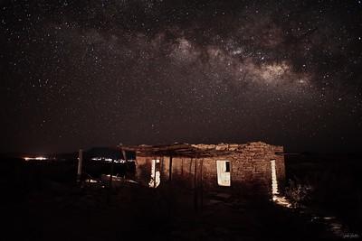 Terlingua Ghost Town & Milky Way