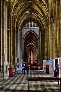 Sainte Croix Cathedral Interior