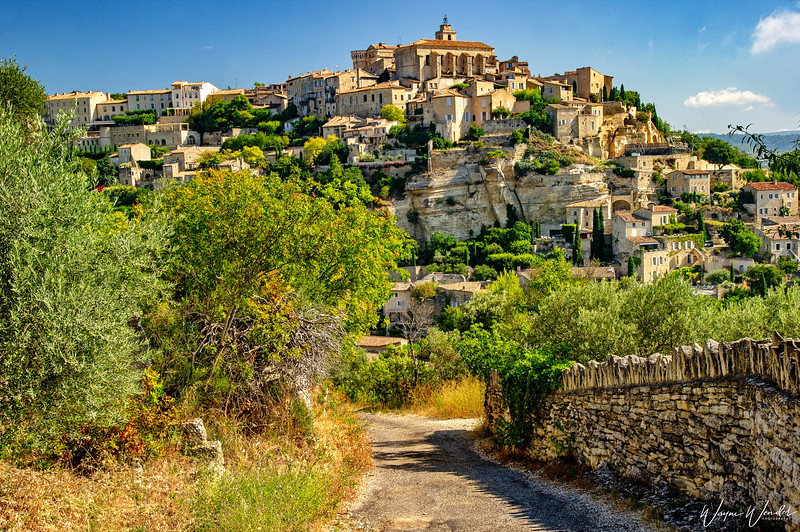 The Road to Gordes