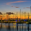 Bayland Marina & the Fred Hartman Bridge in Baytown, Texas