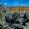 Neptune watching over Chateau de Versailles