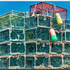 Lobster Traps of Peggy's Cove