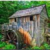 John P. Cable Grist Mill in Cades Cove, Great Smokey Mountain National Park