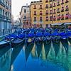 Gondolas at the Hotel