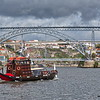 Rabelo Tourist Boat on the Douro River in Porto, Portugal