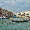 Gondola & the Rialto Bridge