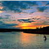 Last Cast on the Firehole River