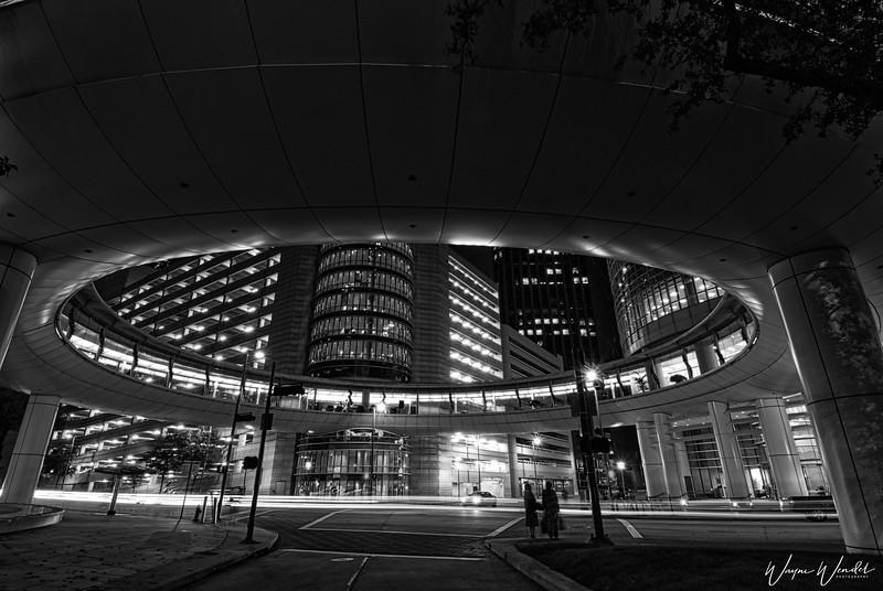 UFO Lands in Downtown Houston