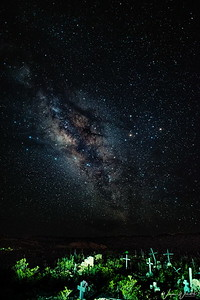 Terlingua Ghost Town Cemetery & Milky Way