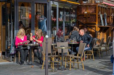 Parisian Sidewalk Cafe