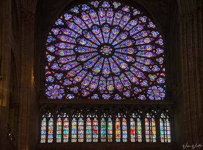 The Rose Window in Notre Dame