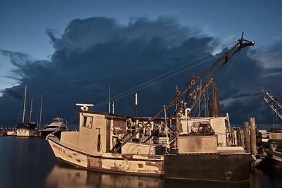 Special K Shrimp Boat and Lightning