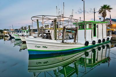 Capt. Alby Shrimp Boat