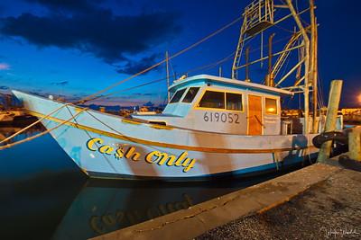 Cash Only Shrimp Boat