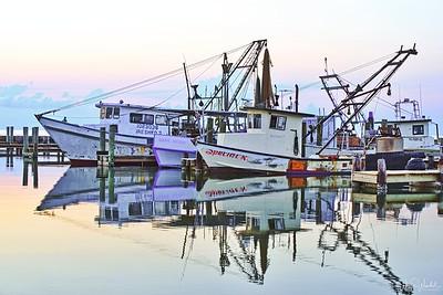 Dawn at Fulton Harbor