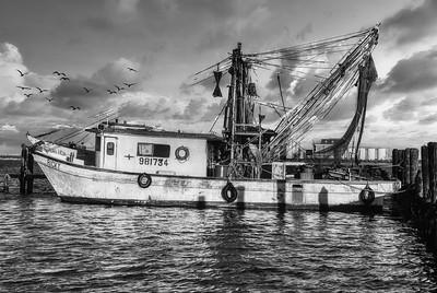 The Ricky at Bolivar Peninsula Docks