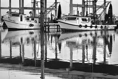 Kemah Port Shrimp Boats