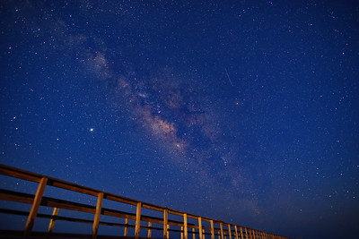 Milky Way Over Madagorda Beach