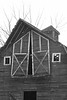 Mille Lacs Co Barn bw - 1