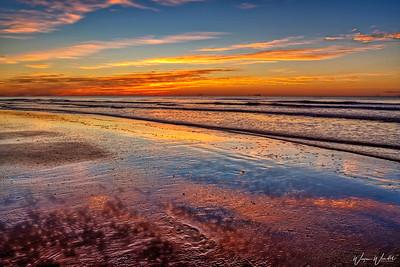 Galveston Sunrise in HDR