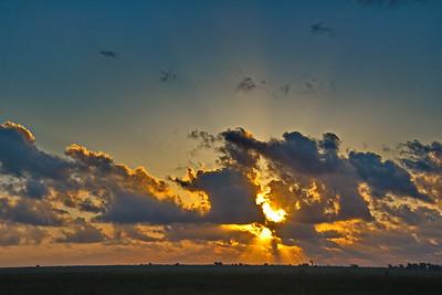 Sunrise Over Anahuac NWR
