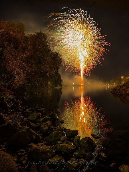 Fireworks in Spokane