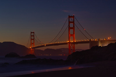 Golden Gate Dusk