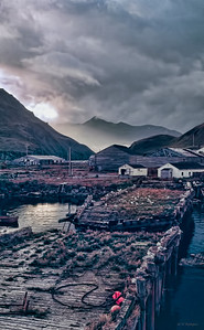 Storm Over Dutch Harbor, AK, 1971