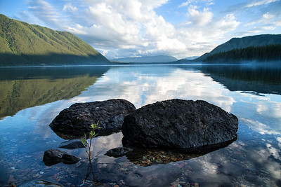 Lake McDonald Reflections