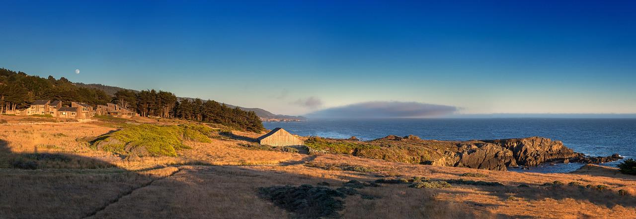 Moonrise over Sea Ranch