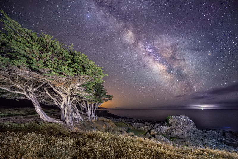 Spring Milky Way, Sea Ranch, California