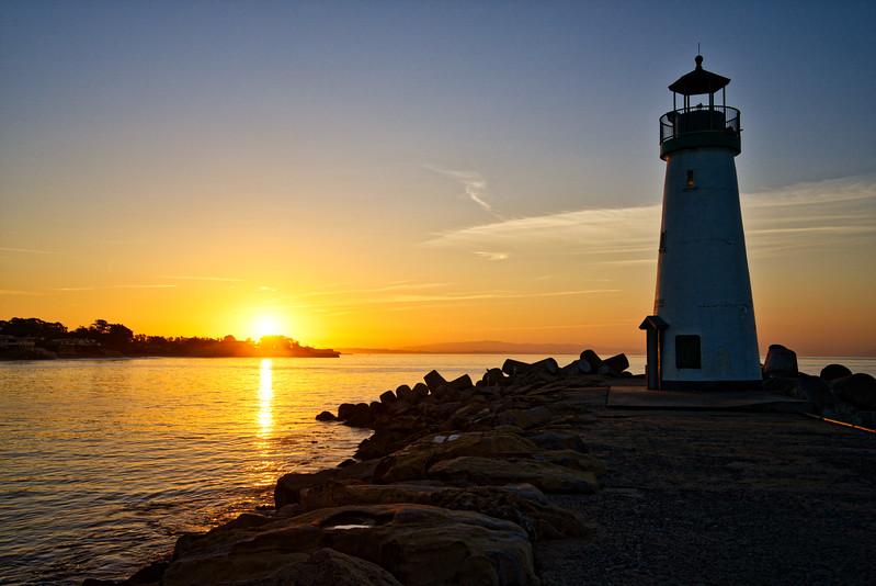 Santa Cruz Harbor Sunrise
