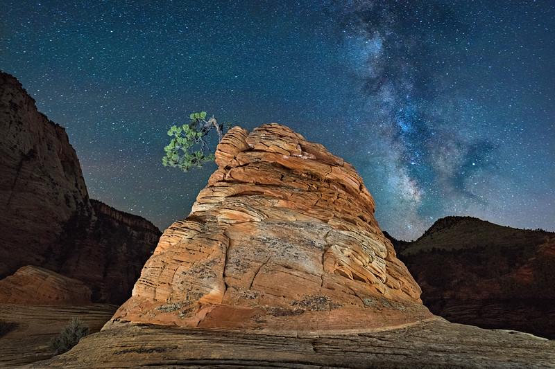 Hoodoo & Milky Way, Zion National Park, Utah