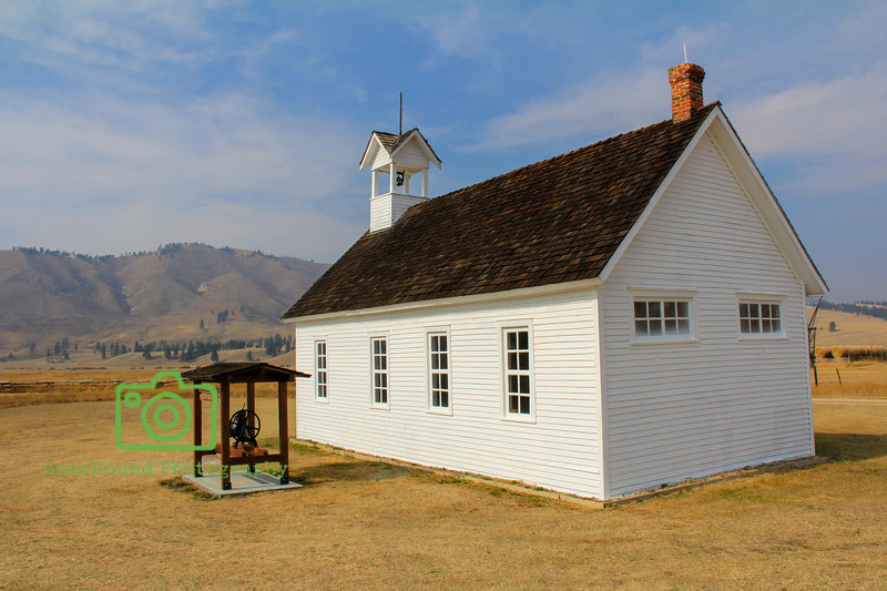 Old Sula Schoolhouse in Montana