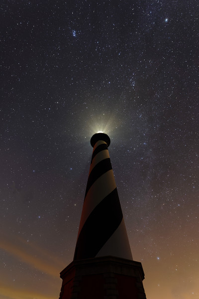 Cape Hatteras Lighthouse Night Sky