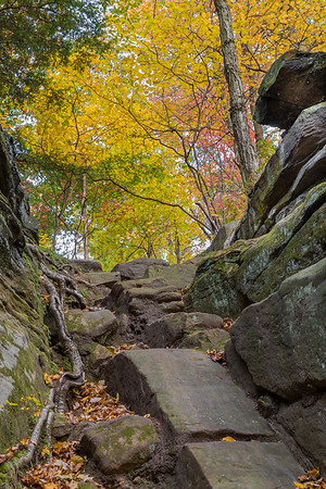 Fall Colors at Ritchie Ledges