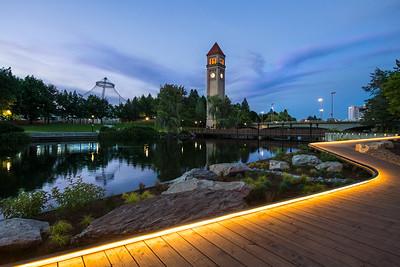 Riverfront Evening