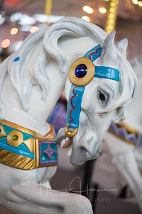 Looff Carrousel White Horse