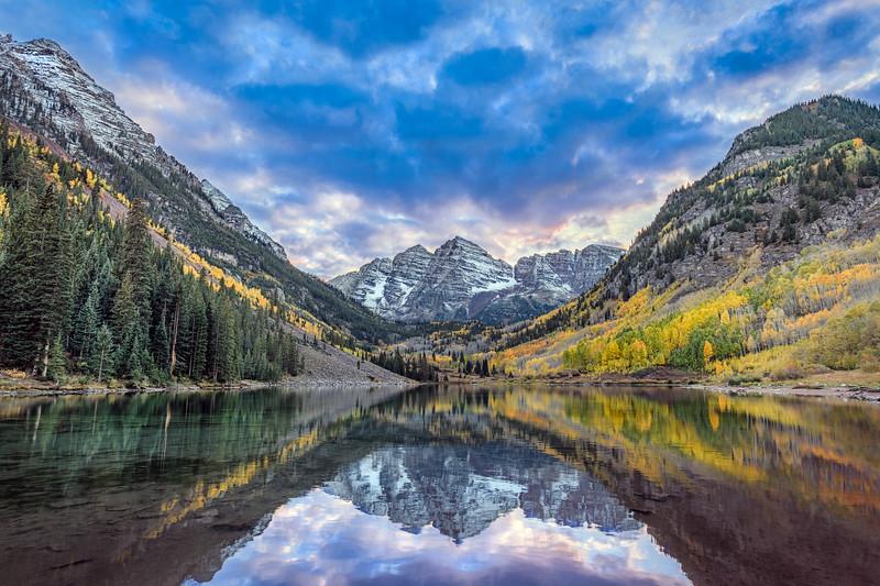 Maroon Bells Study #2, Colorado