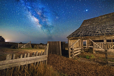 Night Barn, Sea Ranch, California