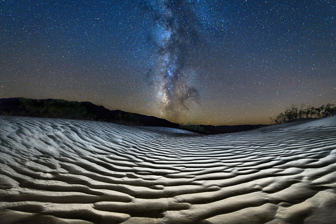 Death Valley Dunes & Milky Way, California