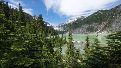 Blanca Lake Panorama